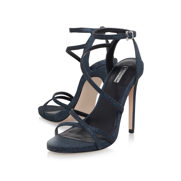7f9994d7b51 Georgia Blue High Heel Sandals By Carvela