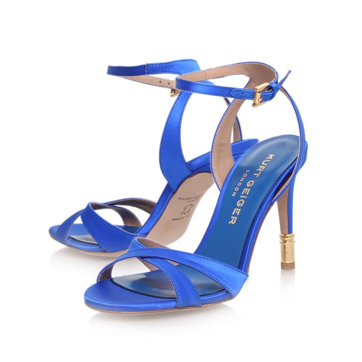 70e32948616e8 Chelsea Blue High Heel Sandals By Kurt Geiger London