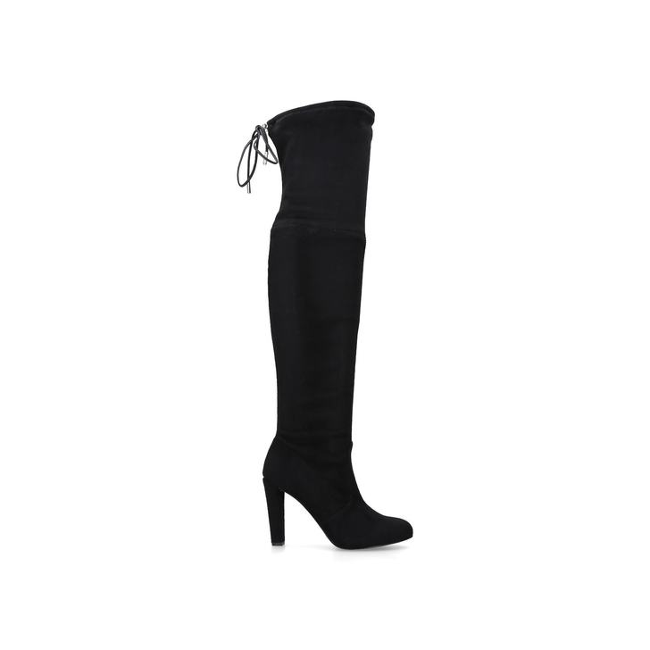 Sammy. Black High Heel Over The Knee Boots