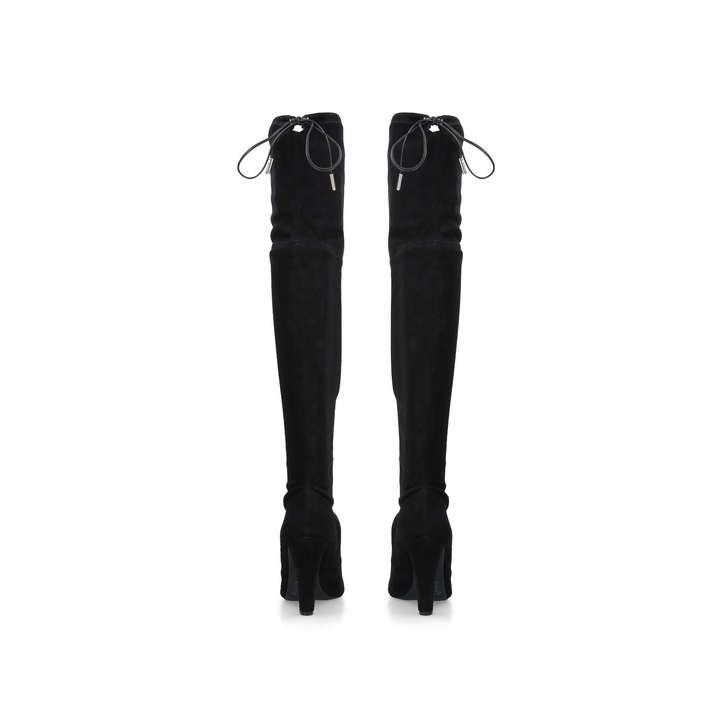 12ea6654c85 Sammy Black High Heel Over The Knee Boots By Carvela | Kurt Geiger