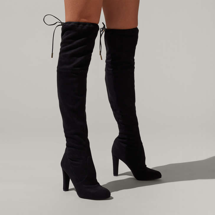1397bff05821 Sammy Black High Heel Over The Knee Boots By Carvela
