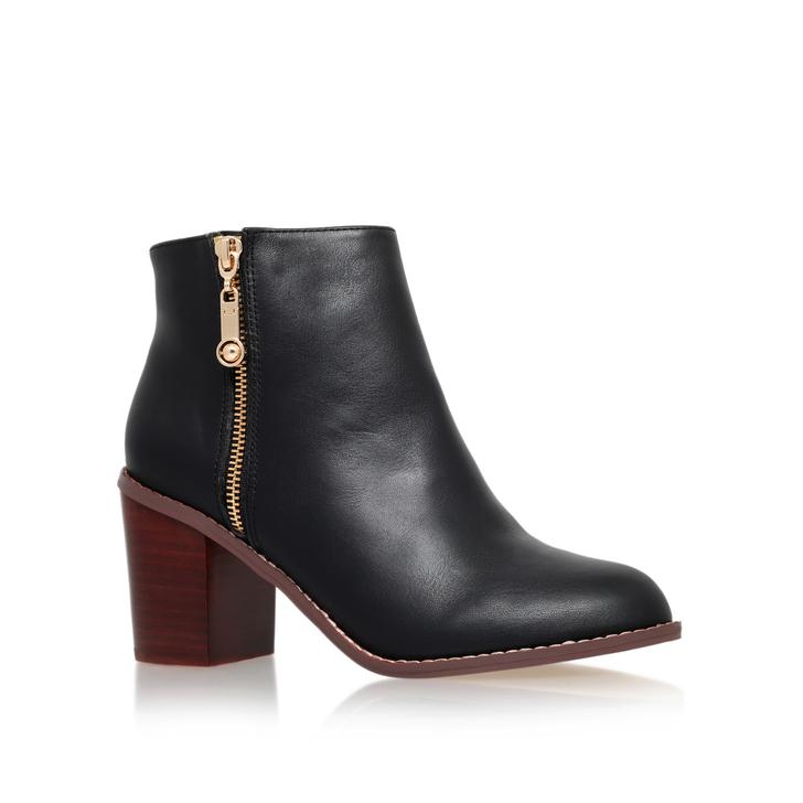 Tag Black Mid Heel Ankle Boots By Carvela Kurt Geiger | Kurt Geiger