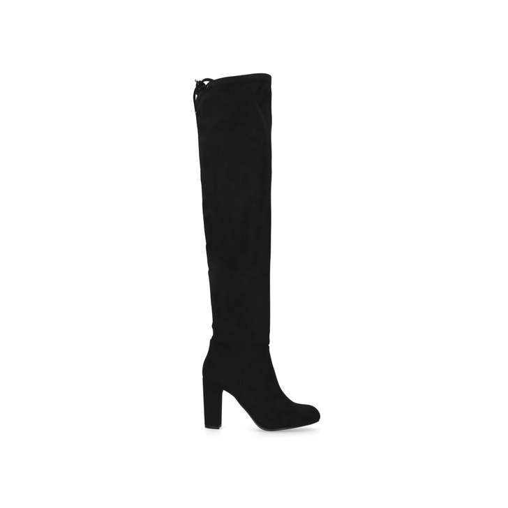 67702fc8091 Pace. Black High Heel Over The Knee Boots