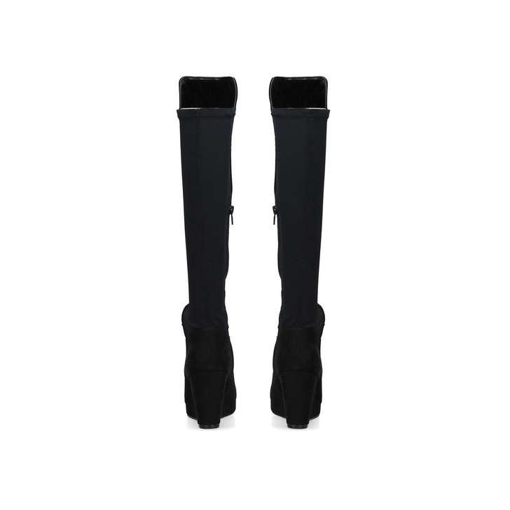 Miss KG Harley2 - black mid heel over the knee boots Get 9UWpNIjV