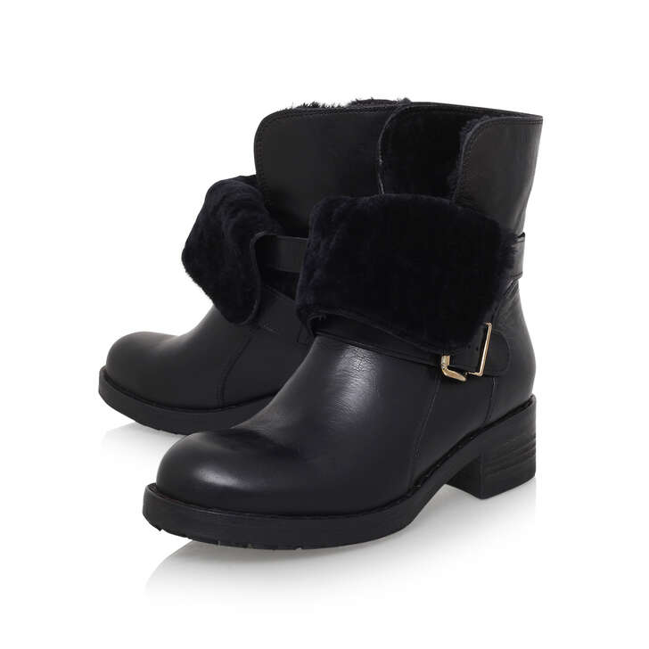 High Quality Pick A Best Kurt Geiger Richmond - black low heel ankle boots Sa77B
