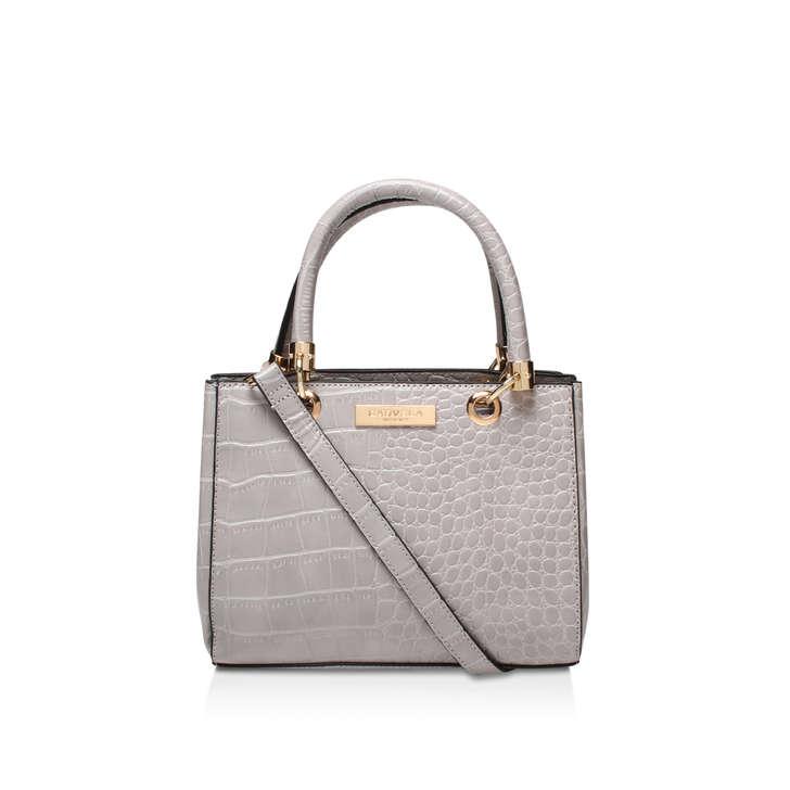 Dea Mini Shoulder Bag Grey Shoulder Bag By Carvela Kurt