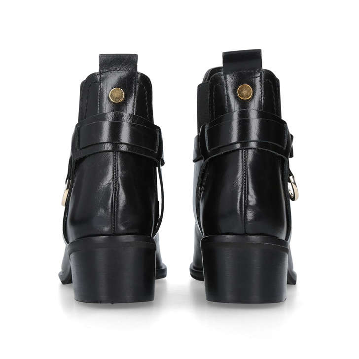 Cheap And Nice Recommend Cheap Online Carvela Saddle - black low heel ankle boots 3LOpB