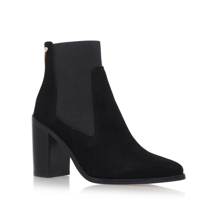 Lowest Price Online Cheap Visit New Kurt Geiger Sicily - black mid heel ankle boots Online Shop Footaction Online For Nice Zrk3d