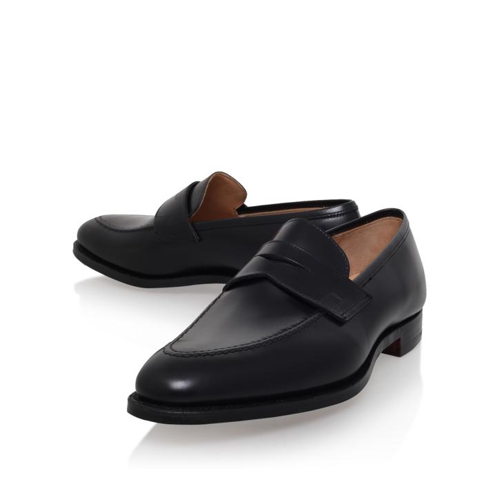 0a303608993d Sydney Penny Loafer Black Loafer Shoes By Crockett   Jones   Kurt Geiger