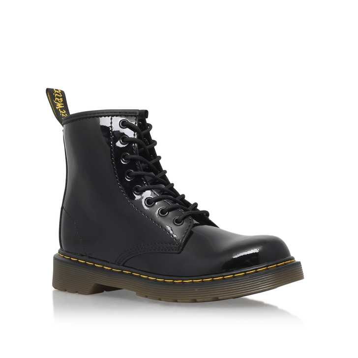 DR. Martens Juniors Delaney Lace boot Negro yE7m5CQ4sj