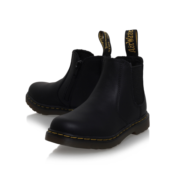 175cef80e3d Juniors Banzai Boys Black Ankle Boots 5 - 10 Years By Dr Martens | Kurt  Geiger