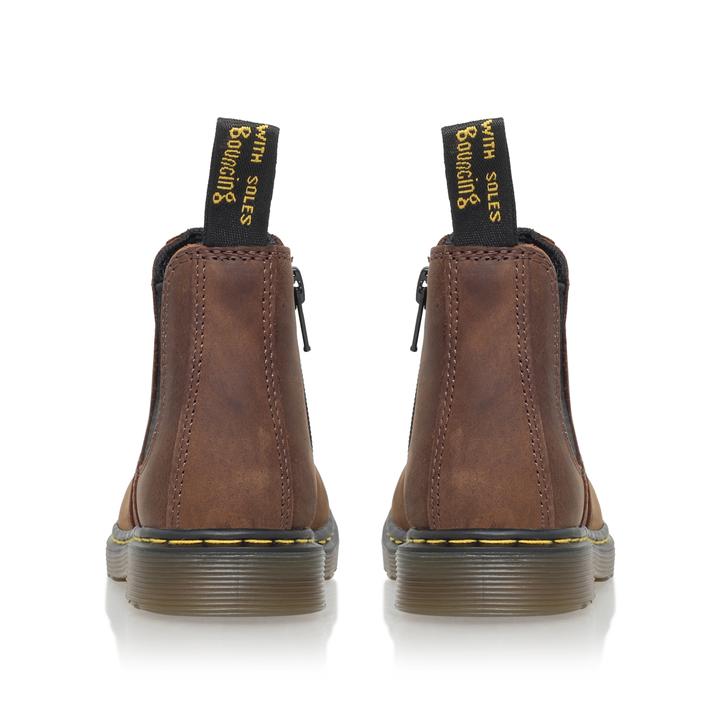6e145c36704f2 Juniors Banzai Boys Brown Chelsea Boots 4 - 9 Years By Dr Martens | Kurt  Geiger