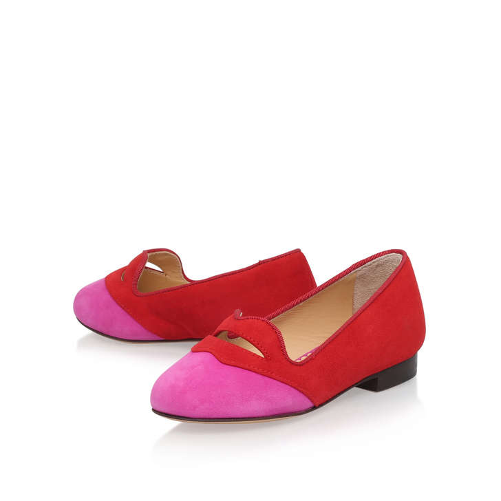 BISOUX PNK SDE TOE 24 RED