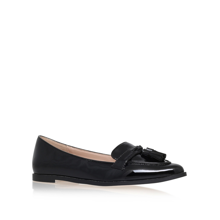 Magnum Black Flat Loafer Shoes By Carvela Kurt Geiger