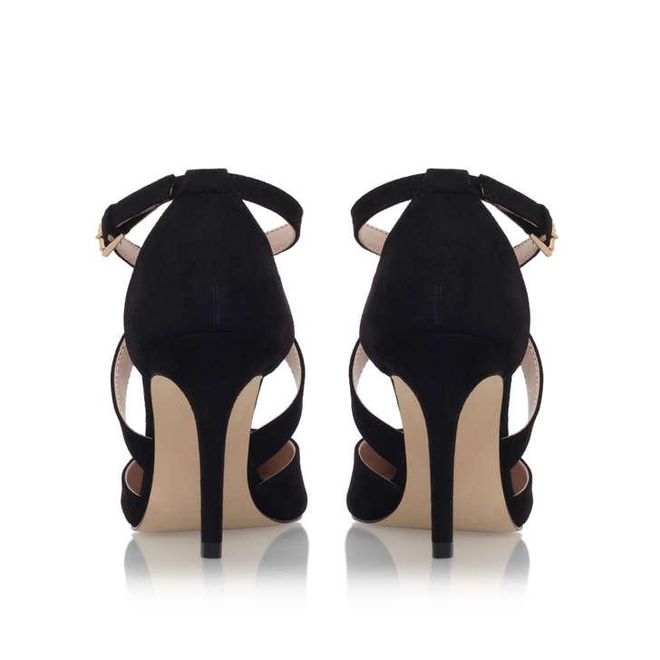 Kross Black Mid Heel Court Shoes By Carvela Kurt Geiger