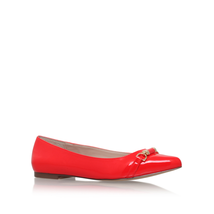 Moore Red Flat Ballerina Shoes By Carvela Kurt Geiger
