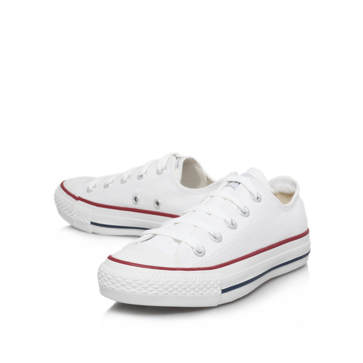 Chuck Taylor Ox White Low Top Trainers By Converse  df83c1b57