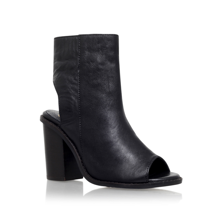 d02bcd53db85b Milly Black High Heel Ankle Boots By KG Kurt Geiger