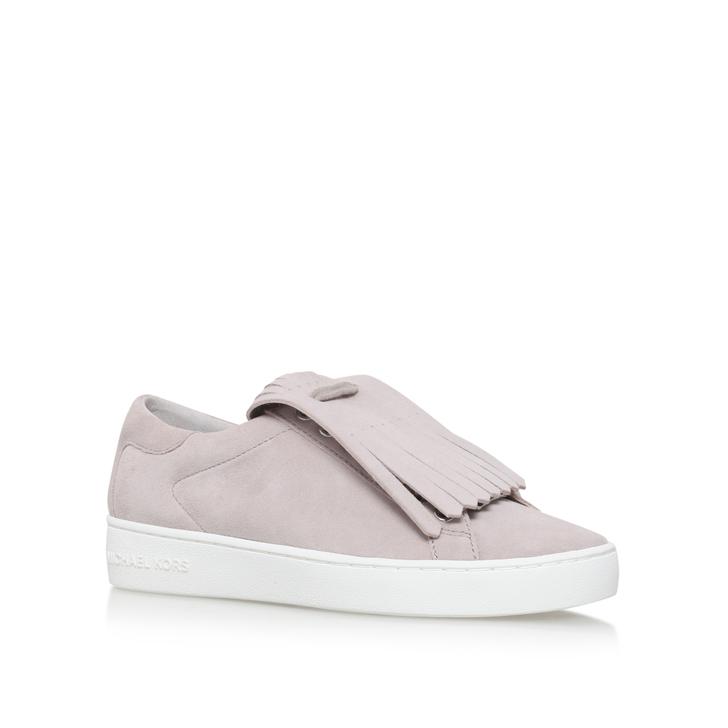 605d59551e3 Keaton Kiltie Sneaker Grey Flat Low Top Trainers By Michael Michael Kors