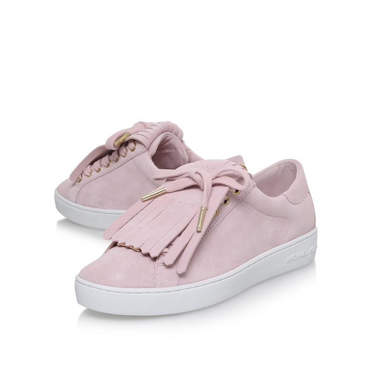 4ce46d0258b Keaton Kiltie Sneaker Pink Low Top Trainers By Michael Michael Kors ...