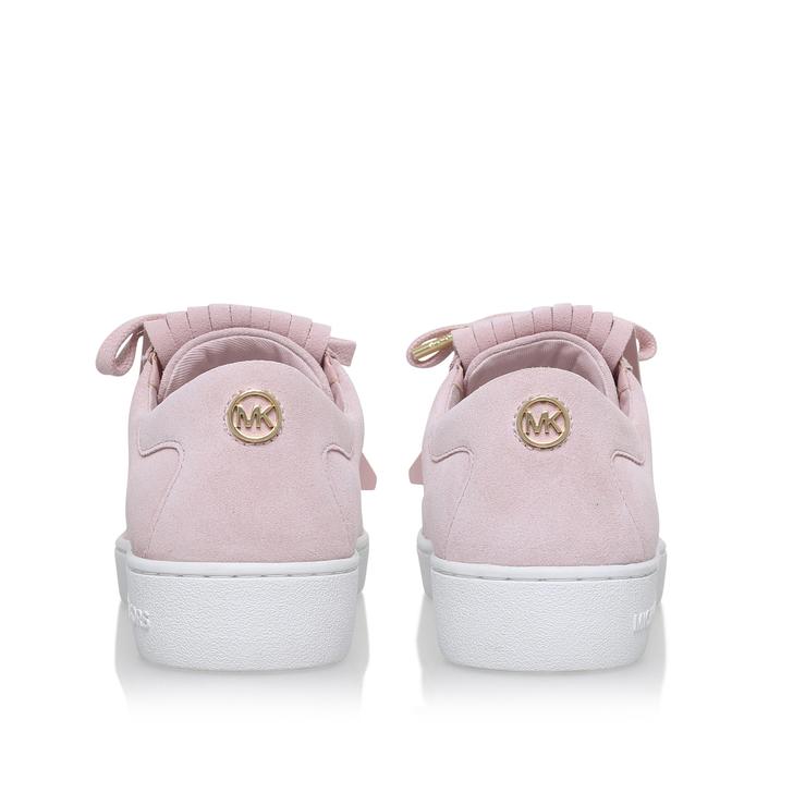 af06ba796c213 Keaton Kiltie Sneaker Pink Low Top Trainers By Michael Michael Kors ...