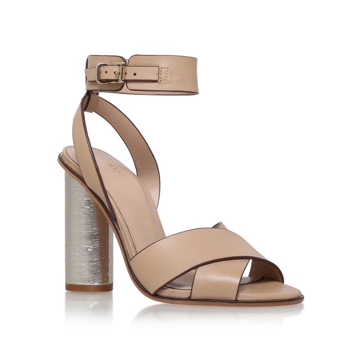 Freya Metallic High Heel Sandals By Miss KG | Kurt Geiger