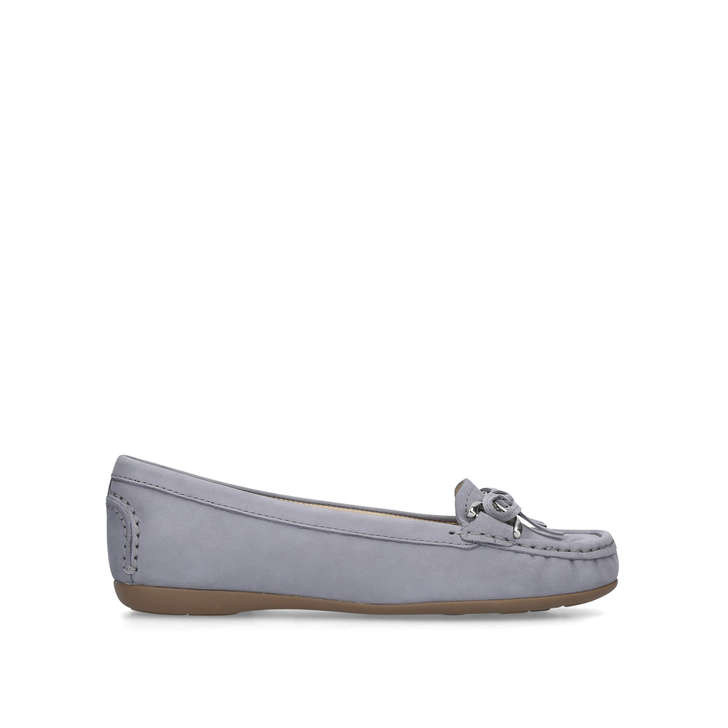 b69e7e60b Cally Grey Suede Loafers By Carvela Comfort