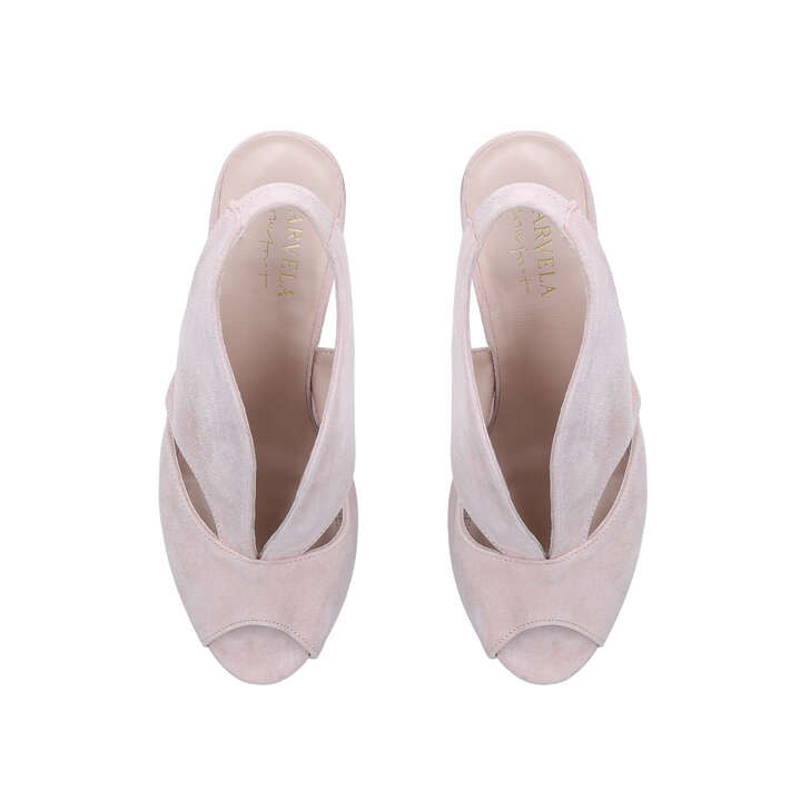 196eedfc64b Arabella Nude Mid Heel Court Shoes By Carvela Comfort