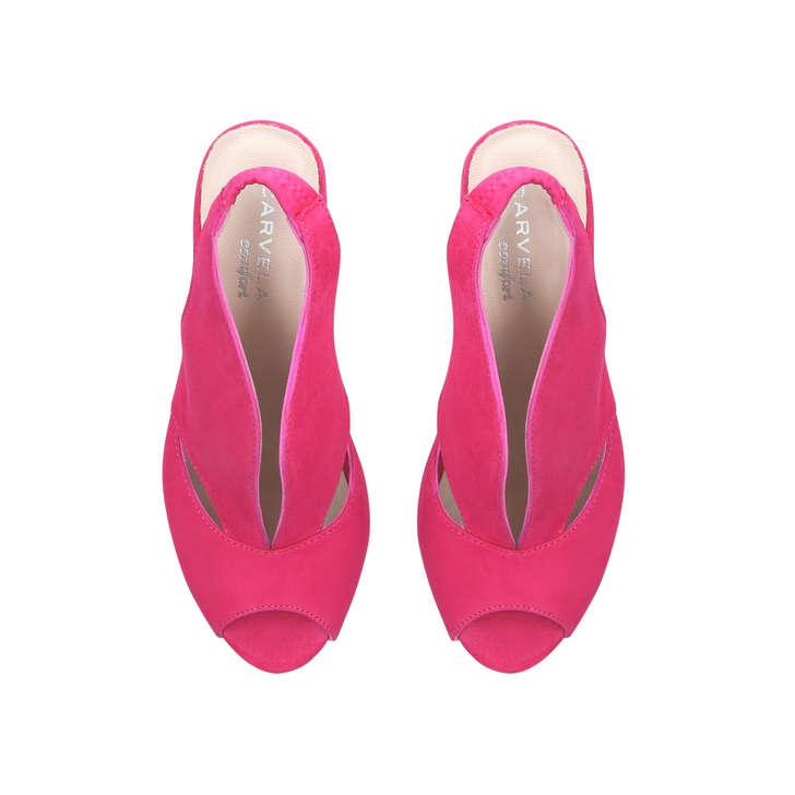 Carvela Comfort Arabella - pink mid heel sandals Affordable Sale Online New Arrival Genuine For Sale With Credit Card Online Manchester Sale Online sa7L1j4vGZ