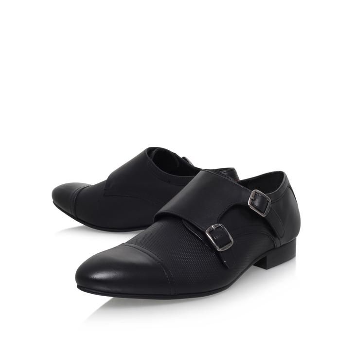 Cozier Black Monk Shoes By KG Kurt