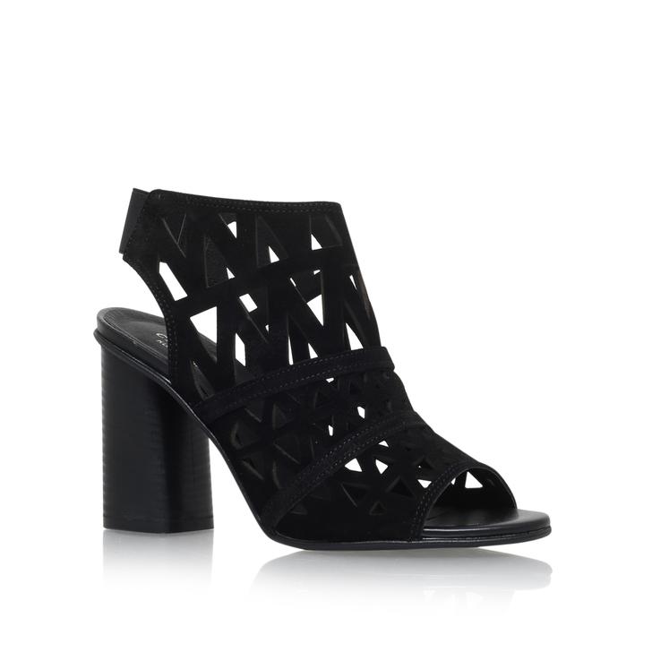 3df3d3a9a94f Kupid Black High Heel Sandals By Carvela