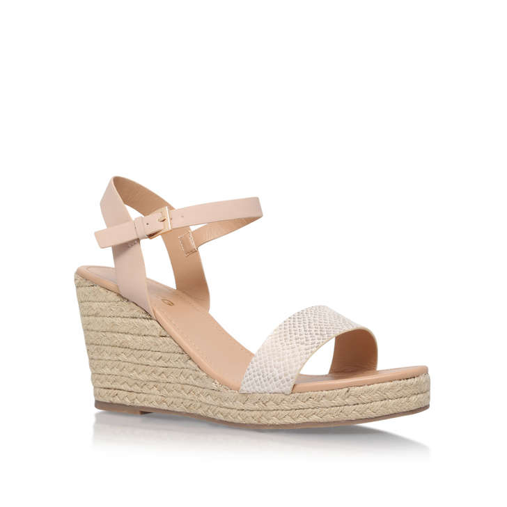 discount 100% guaranteed White 'Paulina' mid heel wedge sandals good selling online new styles for sale under $60 u1r3o6PW4