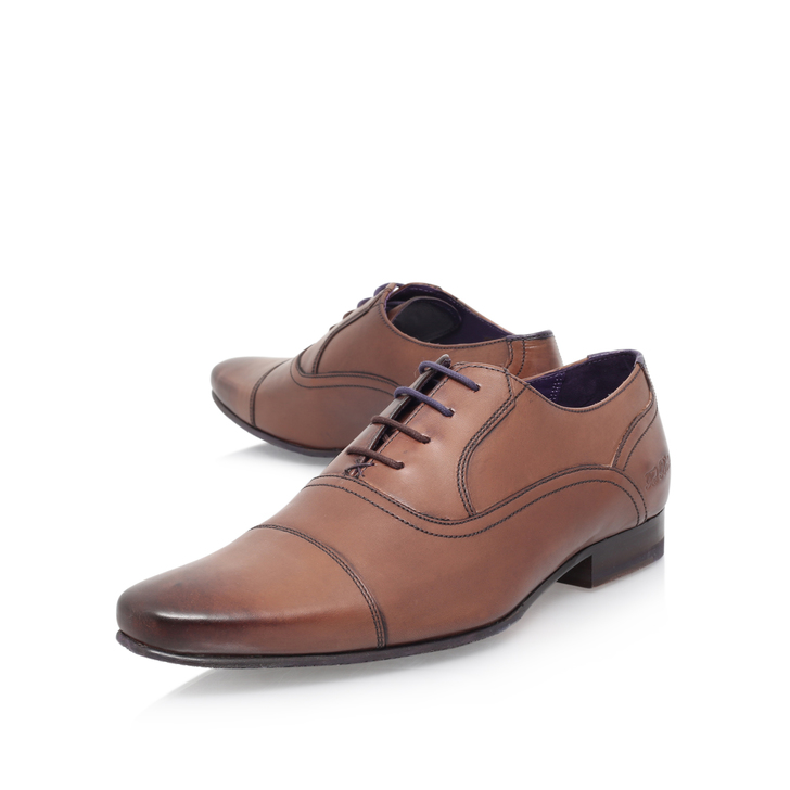 0a79dbb0319fb Rogrr 2 Toecap Ox Brown Lace Up Shoes By Ted Baker