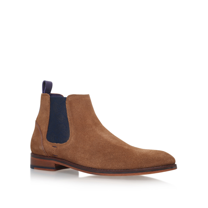 08f4c1ebf Camroon 4 Paisley Chelsea Tan Chelsea Boots By Ted Baker