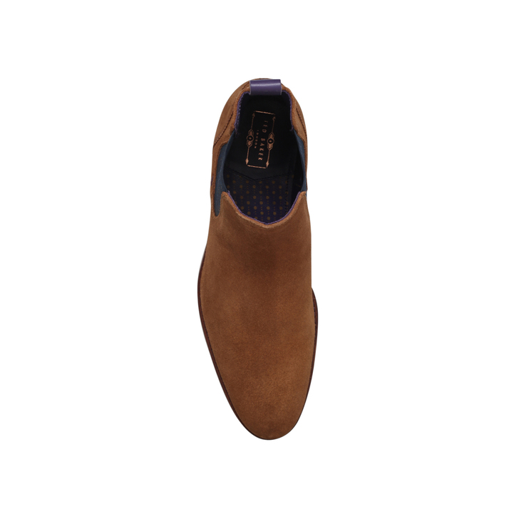 c89be701ea2ed0 Camroon 4 Paisley Chelsea Tan Chelsea Boots By Ted Baker