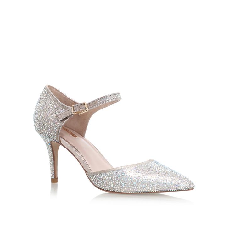 Ginny Gold Mid Heel Court Shoes By Carvela Kurt Geiger | Kurt Geiger