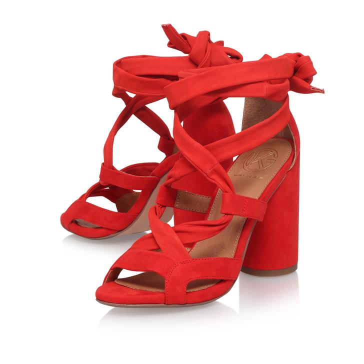 0fd3eac29d8f MIA Orange High Heel Sandals by KG KURT GEIGER