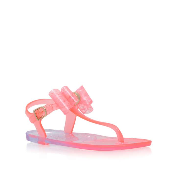 153f554fd32d Jellybean Girls Pink Jelly Sandals 3-7 Years By Mini Miss KG