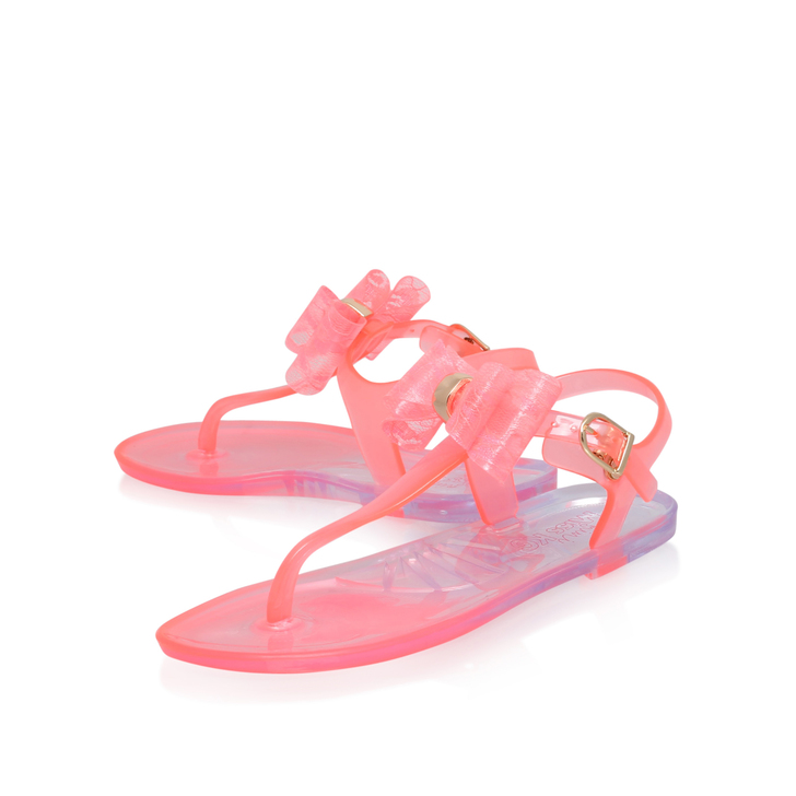 e92cec6209a6 Jellybean Girls Pink Jelly Sandals 3-7 Years By Mini Miss KG