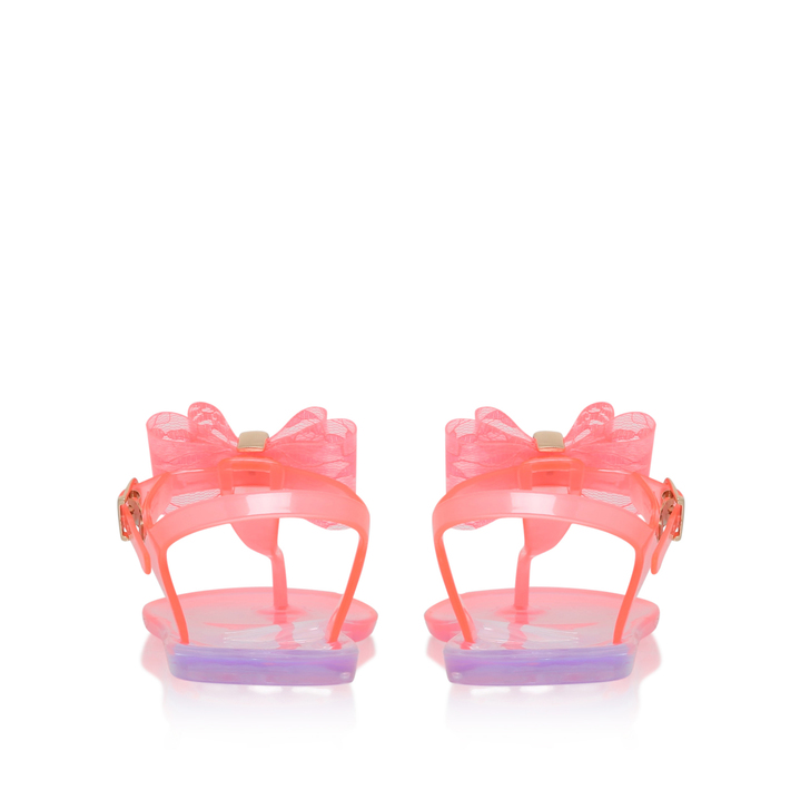 Jellybean Girls Pink Jelly Sandals 3 7 Years By Mini Miss