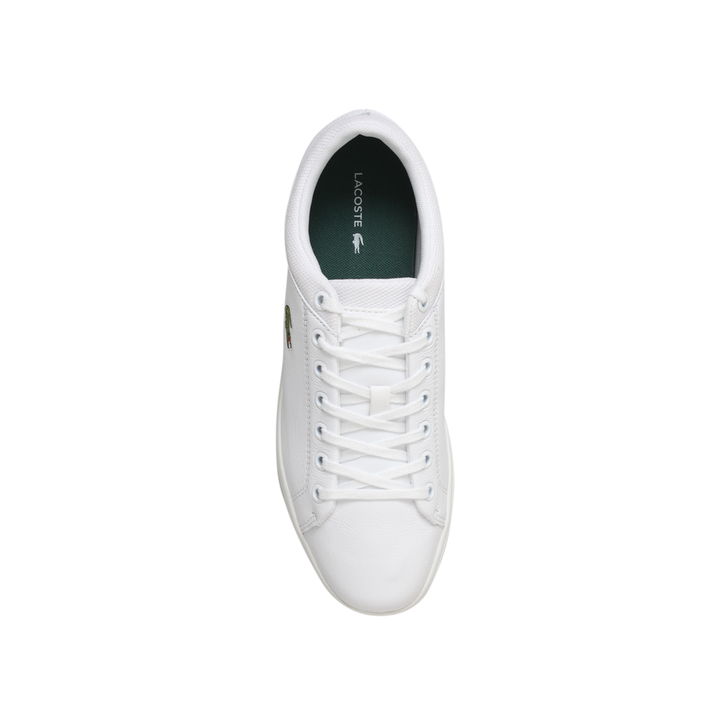 8d5599c841fd7 Straightset Spt Lo White Low Top Trainers By Lacoste   Kurt Geiger