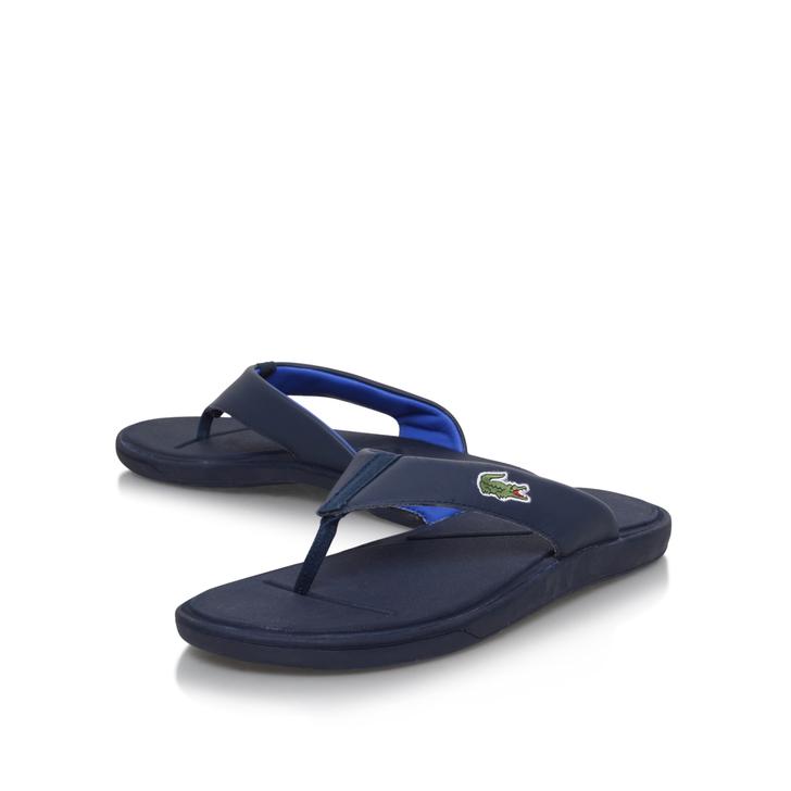 4518eabed29 L30 Flip Flop Navy Flip Flops By Lacoste