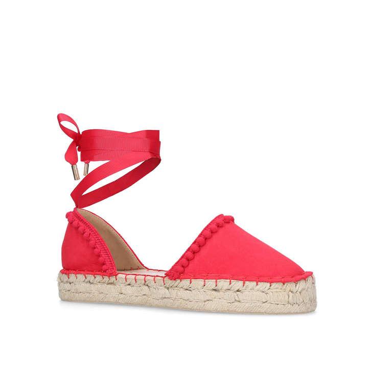 c2540dc1d51ef8 Kurt KG Geiger Miss Flat Dizzy By Pink Sandals fqaOwFZ