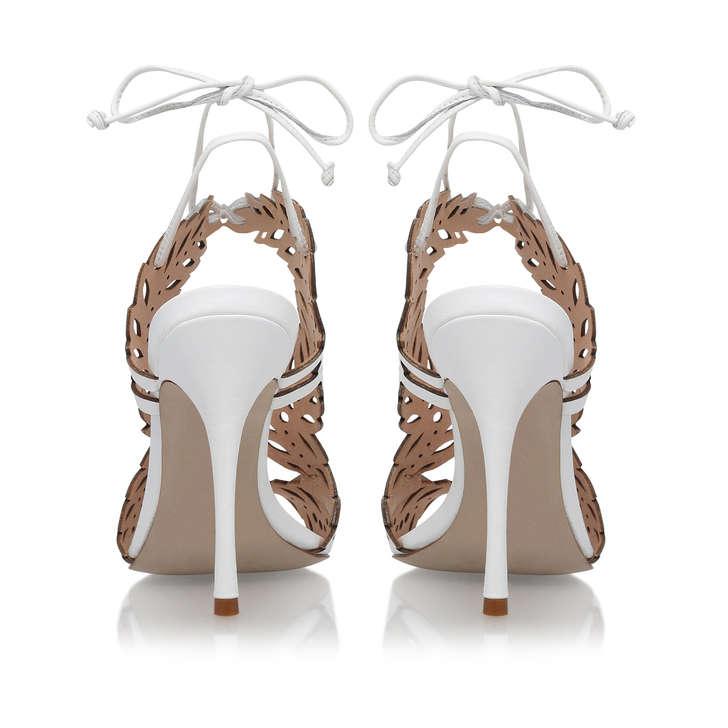 a5ae8a31dbf Horatio White High Heel Sandals By KG Kurt Geiger