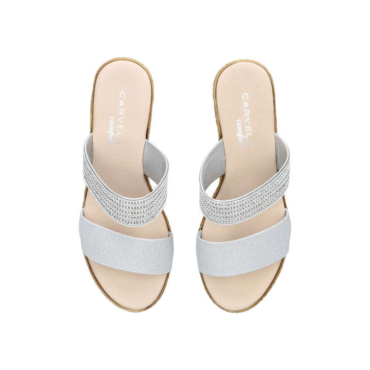 finishline for sale Grey 'Sybil' heeled sandals cheap sale extremely eastbay online latest for sale T3ecdW