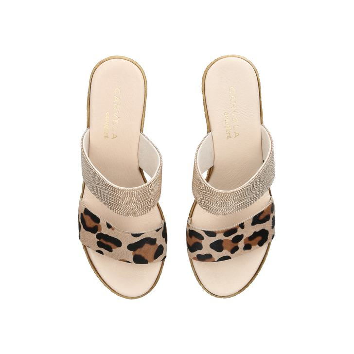 buy cheap in China Gold 'Sybil' leather wedges buy cheap really free shipping the cheapest cheap sale supply discount countdown package jx3vrcOM