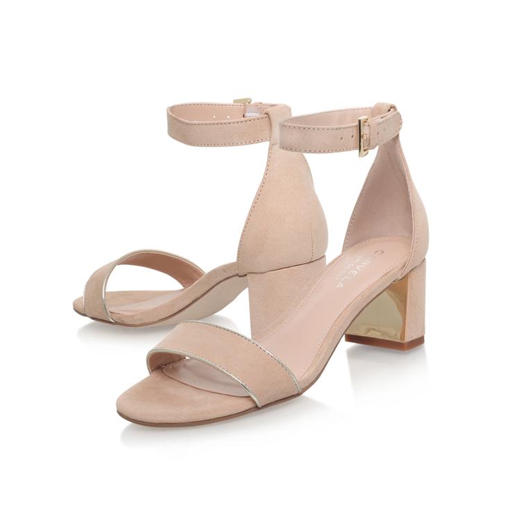 Gospel Nude Mid Heel Sandals By Carvela Kurt Geiger uQYe9TjQ