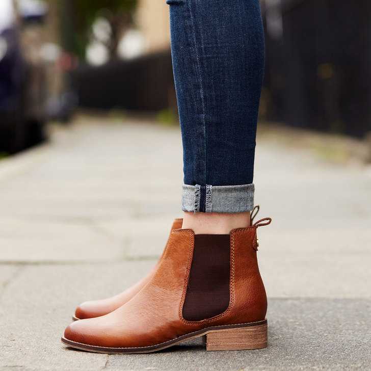 Storm Tan Flat Ankle Boots By Carvela Kurt Geiger