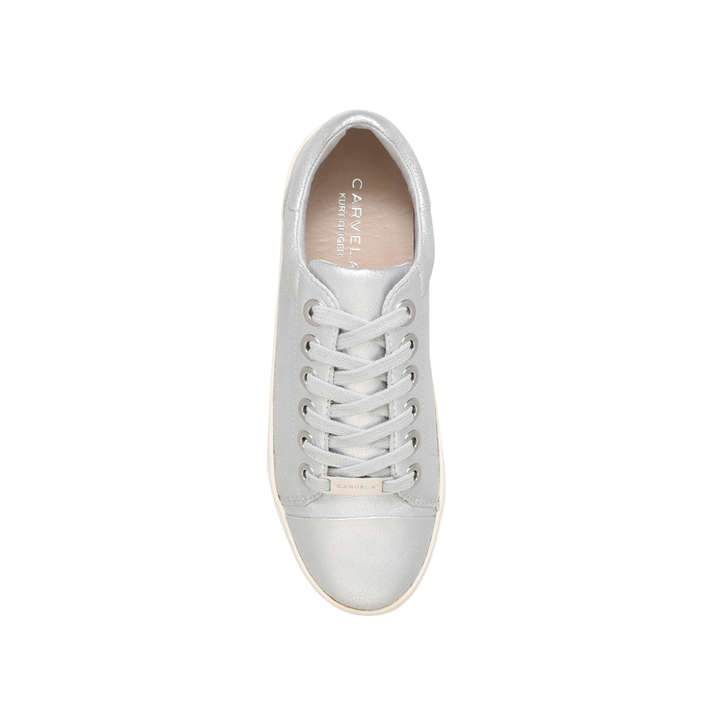 Loot Silver Flatform Trainers By