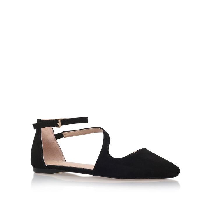 Black 'Meverick' flat court shoes buy cheap discounts w4Me1yjOx